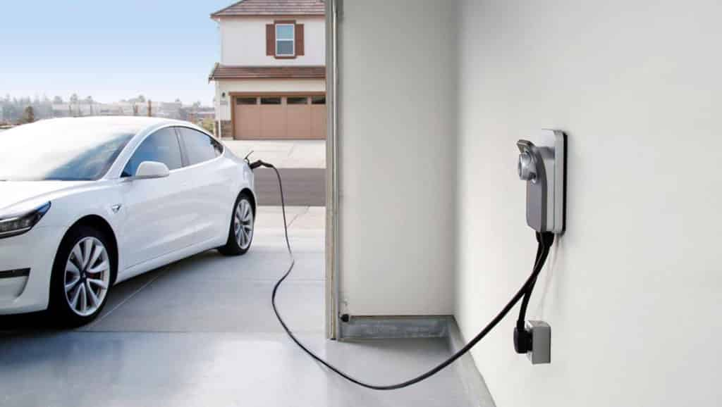 White-Car-And-EV-Charger