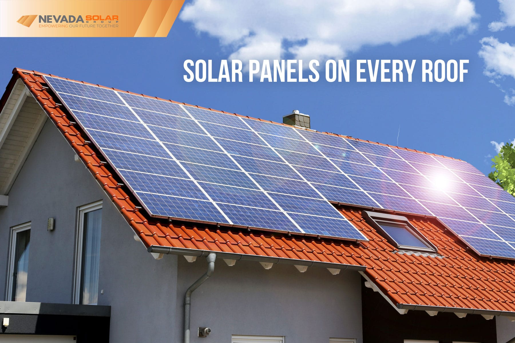 Solar-Panels-On-The-House-Roof-In-Nevada