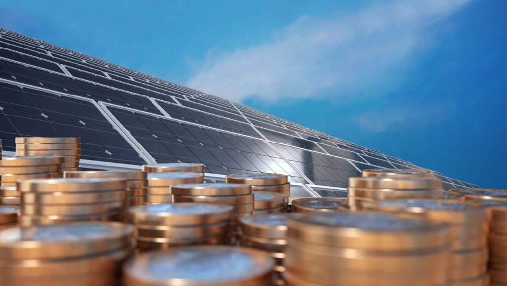 Solar-Panels-And-Gold-Coins